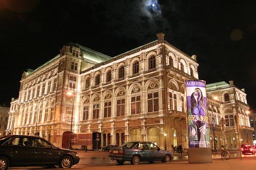 Teatro de la Opera en Viena