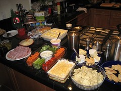 The spread. (12/24/06)