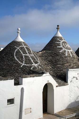 Symbols on Trulli, Alberobello