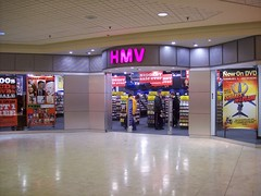 The HMV at Place d'Orlans shopping centre. (Steve Brandon) Tags: music ontario canada records shop retail mall ads advertising geotagged store dvd magasin cd ottawa shoppingcentre shoppingmall suburb shoppingcenter musique hmv orlans  disques centredachats snakesonaplane placedorlans nowondvd