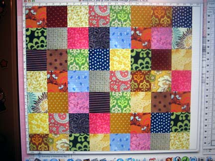 Quilt Mock-up on Photoshop