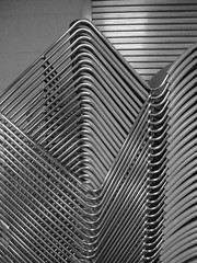 chairs abstracted in black&white (trini_naenae) Tags: bw abstract blackwhite chairs abstracted