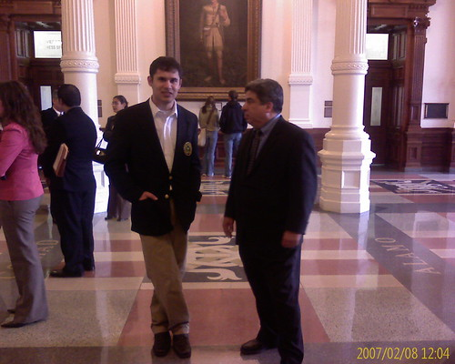 John de la Viña and Rep Peña
