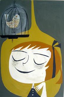 Lemon and bird #1
