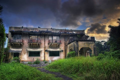 Tyersall House #8 (DanielKHC) Tags: old house building abandoned singapore decay sony ruin mansion alpha derelict hdr decadence orton a100 istana tyersall 3xp photomatix tonemapped 50faves woodneuk abigfave danielcheong hdrmeetsorton hdrenfrancais superbmasterpiece danielkhc