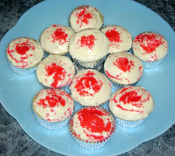 Valentine's Day Cupcakes!