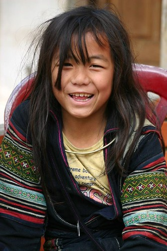 Young beauty. Sapa Land. February 2007.