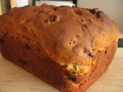 Cardamom Flavored Fruit Bread - Loaf