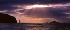 Sandwood Sunset (@PAkDocK / www.pakdock.com) Tags: sunset sea favorite beach landscape bay scotland am buachaille sandwood lpsky