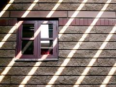window bleeds (Furhan H!) Tags: pakistan red sun window rays karachi colorsplash sindh textileinstituteofpakistan aplusphoto offloom ppc008 superhearts