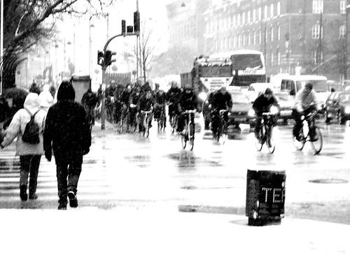 Snowstorm Rushhour