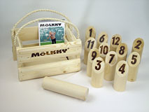 Mölkky sticks