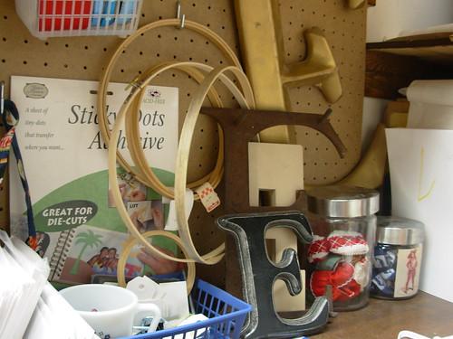 Corner of My Craft Area