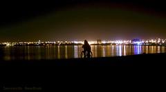 Vista nocturna desde La Herradura, Coquimbo - by Leo-lao protocultor
