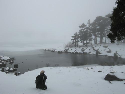 Saltos, nieve y niebla. Seguimos en Neila (2)