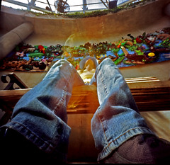 Pinhole 112 (stephcarter) Tags: selfportrait 120 film pinhole day112 kodak100uc 365days 8banners