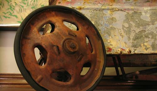 pedal car wheel