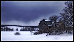 Barnstorming (NY Longbow) Tags: winter snow storm barn explore orton interestingness132 impressedbeauty