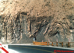 Mesoscopic Folding (mirkazemian) Tags: road rock iran north formation geology folding karaj chalus kandavan mesoscopic