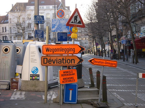 Wegomlegging Jourdanplein