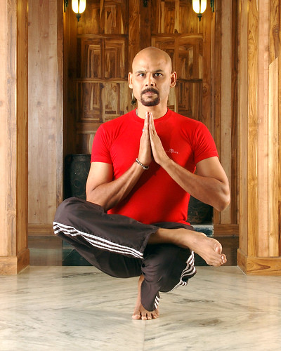 Yoga Guru Suneel Singh_padanghthasana | Flickr - Photo Sharing!