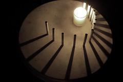 shadows in circle