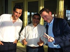 Robert Norton (King), Om Malik (GigaOm), Toby Rowland (King)