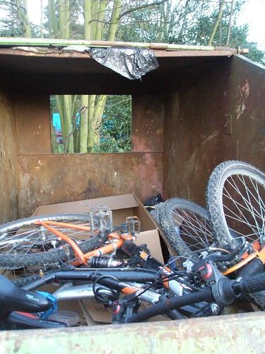 skip it -anyone want a couple of bikes?