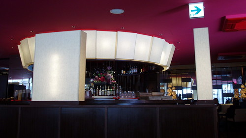 restaurant interior: self-service drink bar #9822