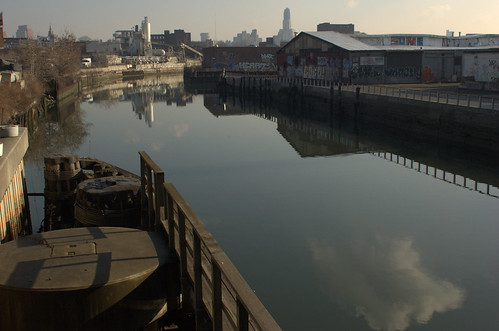 Gowanus Canal, North of Ninth Street Bridge