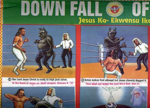 downfall of satan
