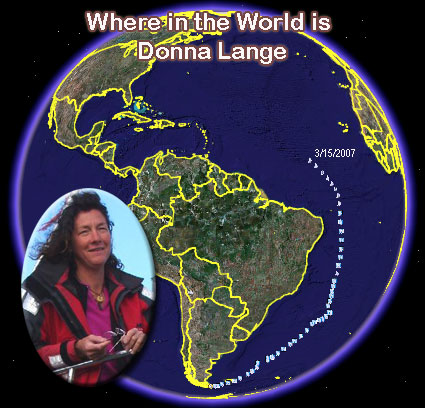 Where in the World is Donna Lange