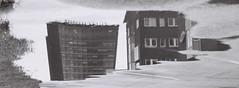 Mirage (ejstanz) Tags: reflection film architecture kodak linkping mjrdevi 400tmx