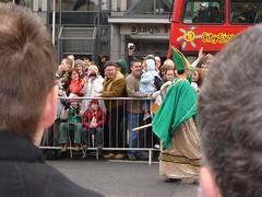 Pakcik St Patrick dgn pakaian tradisionalnye