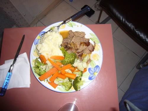 Roast NZ lamb
