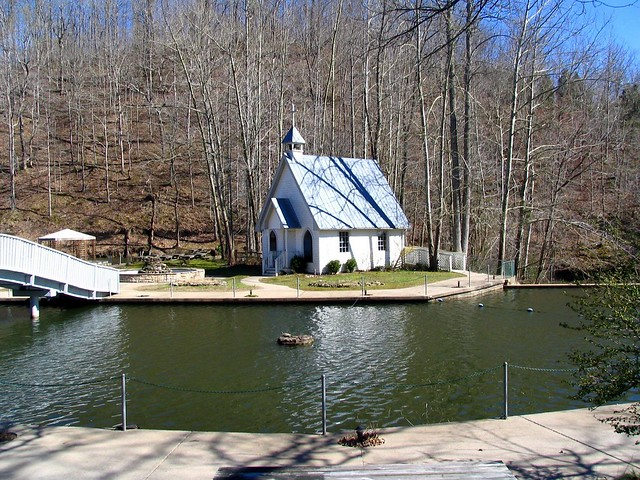 Wedding Chapel in the woods