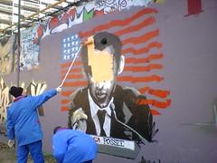 Virez moi ca de là ! (2006) (C+N (en sommeil / sleeping mode)) Tags: paris graffiti tag graph graff sarkozy murs tagg sarko cmn05