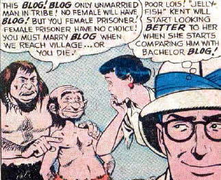 "Quite Possibly the First Time the Word ""Blog"" was Used in Comics  II"