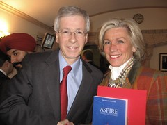 Hon. Stephane Dion with Betsy McGregor