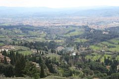 View from Fiesole towards Florence