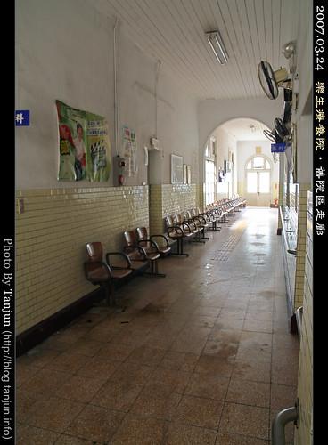 樂生療養院‧舊院區走廊