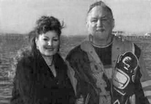 Linda y Chuck Wepner pixelados por amor