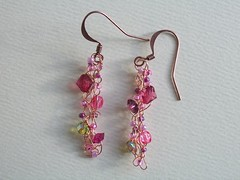 Springtime earrings