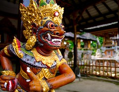 Bali Statue (Erik K Veland) Tags: travel bali holiday statue indonesia temple traditional utatafeature