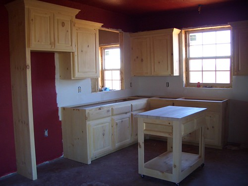 Knotty Pine Cabinets Natural Log Siding