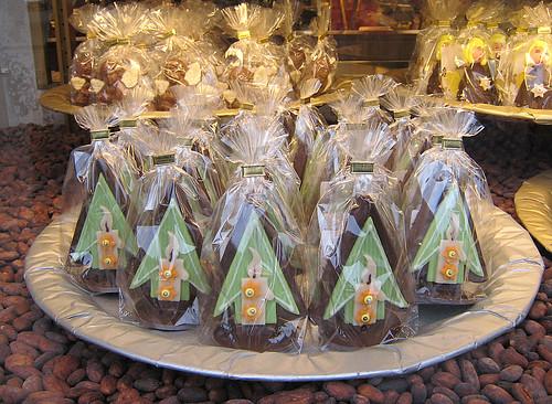 Confiserie Sprüngli Zürich Christmas Chocolates