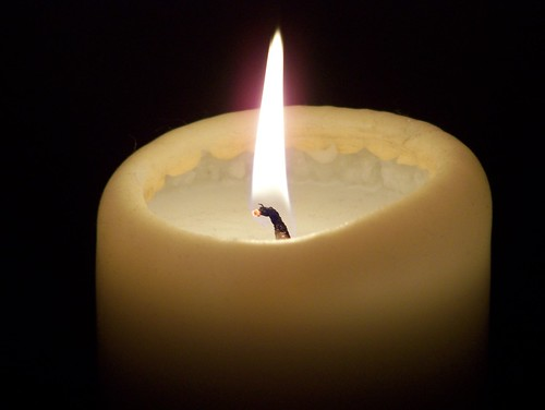 Candle by firemedic58 on Flickr