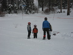 First Lesson (mrcharlie) Tags: snowboarding tahoe jr sugarbowl
