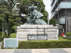 Estatua Kabuki en Asakusa