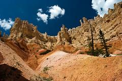 Looking Up (James Marvin Phelps) Tags: park pink red southwest photography utah rocks desert hiking canyon cliffs trail national hoodoo bryce brycecanyon brycecanyonnationalpark mandj98 superbmasterpiece peekaboolooptrail jamesmarvinphelps virtualjourney